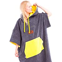 e9130284f8 CULTHOOD Changing Robe Towel Poncho with Zip Pocket - Change your Surfing  and Swimming Wetsuit . See Colour Options