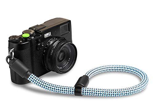 ROPSTER Kamera Handschlaufe aus stylischem Bergsteiger Seil - Universal DSLR SLR Trageschlaufe für Nikon, Canon, Sony, Olympus, Fuji UVM. - Vintage Handgelenk Kameraband - Camera Wrist Strap -