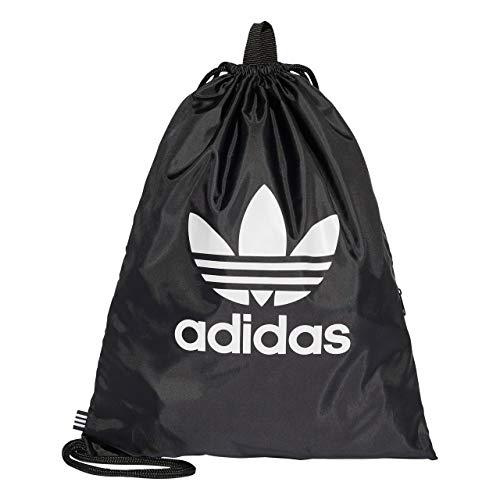 adidas Gymsack Trefoil Sports Bag, Black, One Size (La Kings-ausrüstung-tasche)
