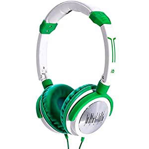 I-Dance Crazy 411 Casque on-ear Blanc/Vert