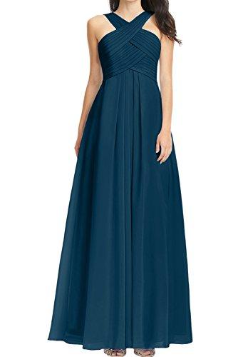 Ivydressing -  Vestito  - linea ad a - Donna Tinte Blau