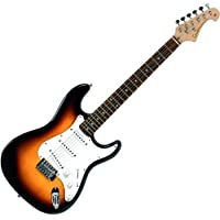 Tenson F503103 RC-101 Guitare électrique 3-Tone Sunburst
