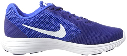 Nike Revolution 3, Scarpe Running Uomo Blu (Deep Royal Blue/white-hyper Cobalt)
