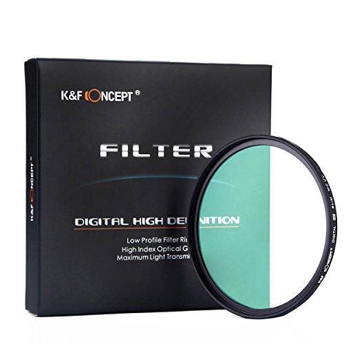 K&F Concept 67mm Slim MC UV Protector Filter per Canon 7D 700D 600D 70D 60D 650D 550D per Fotocamere Nikon D7100 D80 D90 D7000 D5200 D3200 D5100 D3200 D5300 DSLR
