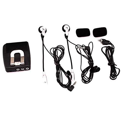 Cuffia da moto impermeabile Cuffia Walkie-talkie può essere collegata a MP3 o telefono cellulare, ascoltando la canzone Il walkie-talkie è molto adatto per il ciclismo. Accessori moto