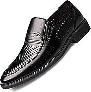 Formal Shoes Men's Novelty Shoes Men's Formal Office Shoes Casual Flat Shoes Men's Leather Oxfords