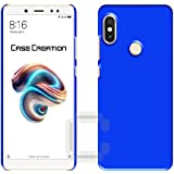 Xiaomi Redmi Note 5 Pro Back Cover, Case Creation TM Hard Back Case Cover For Xiaomi Redmi Note 5 Pro/Redmi Note5 Pro 2018/Mi Redmi Note 5 Pro 5.99-inch- Dark Royal Blue