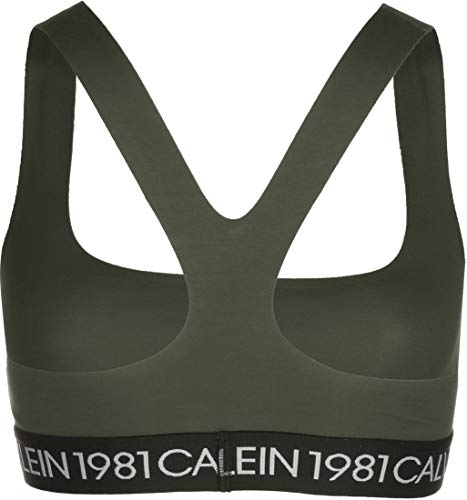 Calvin Klein Underwear Unlined W Bralette army dust - 2