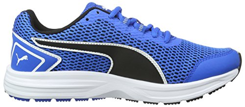 Puma Jungen Descendant V4 Outdoor Fitnessschuhe Blau (Electric Blue Lemonade-Puma Black 02)