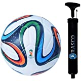 RASCO 4 COLOR FOOTBALL WITH PUMP