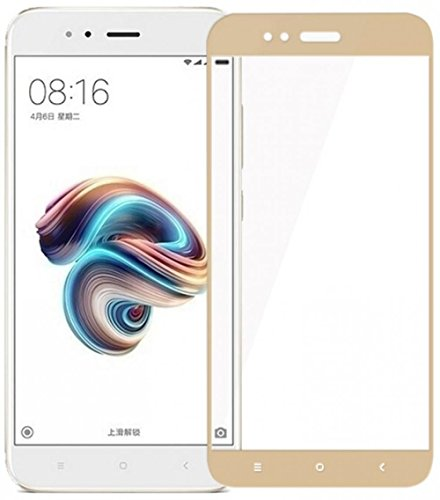 Chevron Full Screen Tempered Glass For Mi A1 Android One – [MidNight Black]