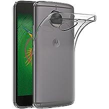 Cover Moto G5S Plus, AICEK Cover Motorola Moto G5S Plus Silicone Case Molle di TPU Trasparente Sottile Custodia per Lenovo Moto G5S Plus (5.5 pollici)