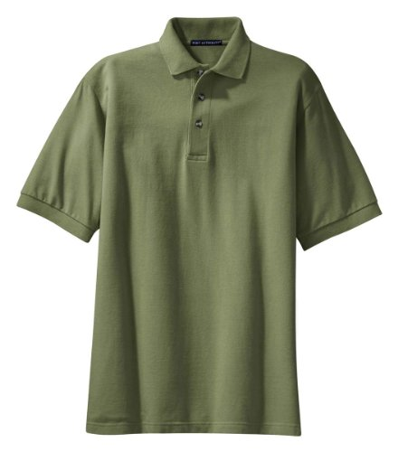 Port Authority -  Polo  - Uomo Faded Olive