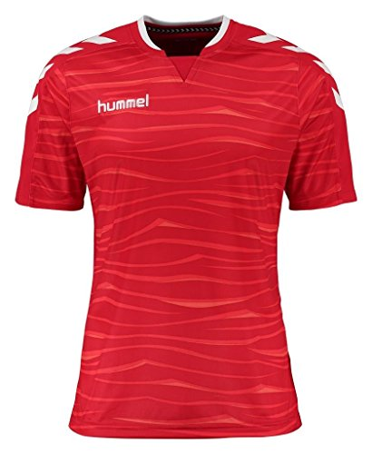 Hummel Herren T-Shirt Pokal Jersey True Red/White
