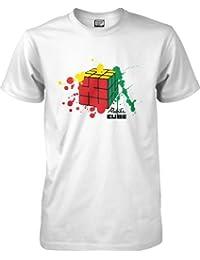 Splat - Rubik's Cube t-shirt by wantAtshirt S to 2XL
