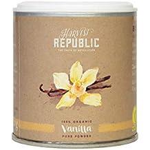 Harvest Republic bio de polvo de vainilla, 25 g, para superalimentos Batidos y batidos