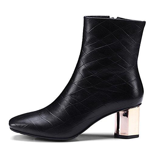 Nine SevenAnkle Bootie - Anfibi donna Black
