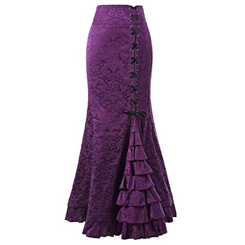 c8d5380204 FAMILIZO Faldas Largas Y Elegantes Faldas Cortas Mujer Verano Faldas Mujer  Invierno Primavera Vestidos Mujeres Punk