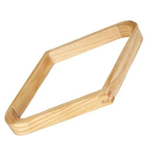 """Genven Kreative Wohnaccessoires Holz 9-Ball Billard Rack Rhombus Rack für 2,25\""""Bälle (zufällige Farbe)"""