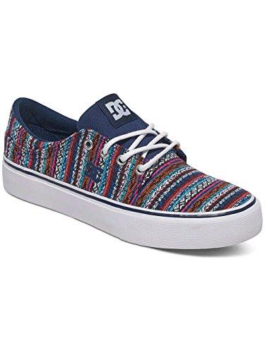 DC Shoes Trase le, Sneakers Basses Femme Bleu - Navy