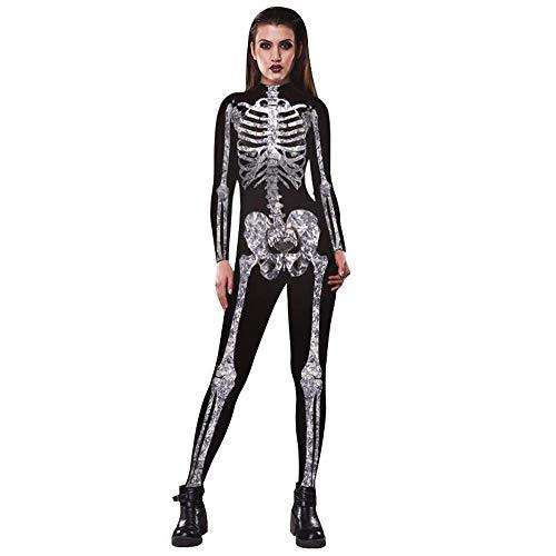 GTKC Donne di Halloween Osso-A-Mente Babe Scheletro Tuta Fancy Dress Costume 03 XL