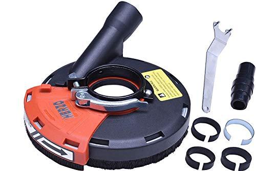 Universal Absaughaube für Winkelschleifer mit Bürstenkranz 115mm/125mm