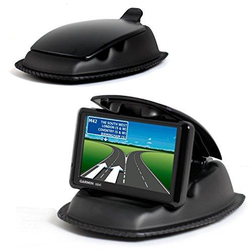 Navitech Anti-Rutsch-Auto-Armaturenbrett-Halterung für Garmin DriveSmart 60LMT-D/Garmin Drive 60LMT