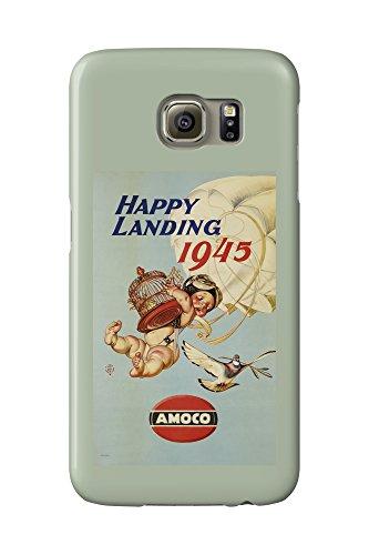 amoco-happy-landing-vintage-poster-artist-leyendecker-joseph-c-c-1944-galaxy-s6-cell-phone-case-slim