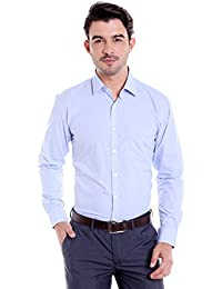 Donear NXG Mens Formal Shirt_SHIRT-C110-SKYBLUE