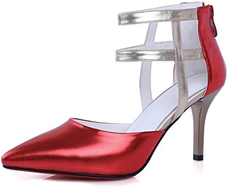 BalaMasa  ASL05164,  s Compensées Femme - 36.5 Rouge - Red, 36.5 - EUB07FC4DF65Parent fc10d9