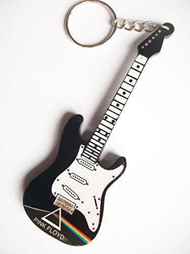 Llaveros madera forma guitarra - Pink Floyd - Tribute