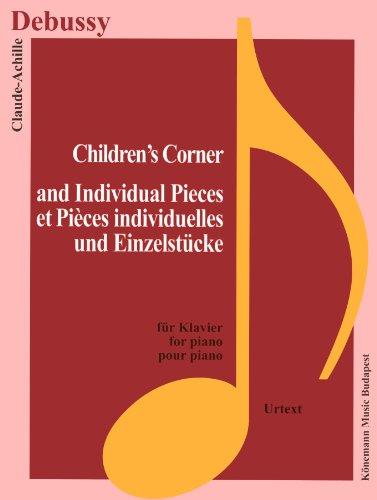 Partition - Debussy - Children's Corner et pices s individuelles - pour piano