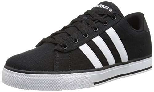 Adidas Neo Se Täglich Vulc Lifestyle Skateschuh, grau / wei� / grau, 13 M Us Black/Running White/Black
