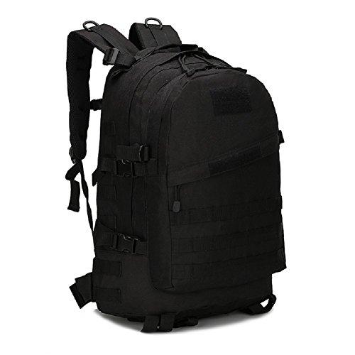 LF&F Militär-Fan Tarnung Bergsteigen Tasche taktischen Rucksack Outdoor-Camping-Tasche militärischen Rucksack Wanderrucksack wasserdichte große Kapazität Casual Laptop Rucksack G