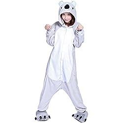 Kenmont Unicornio Juguetes y Juegos Animal Ropa de dormir Cosplay Disfraces Pijamas para Adulto Niños (Small, Koala)