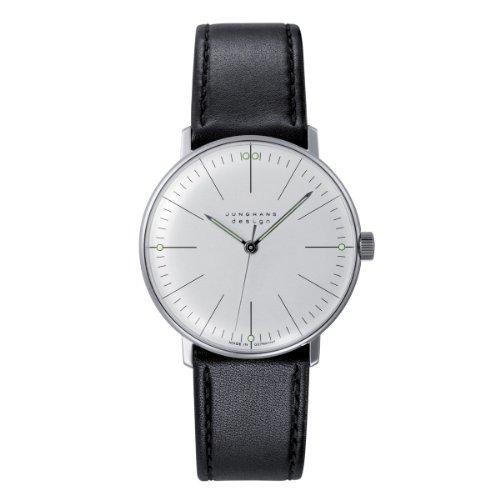 Junghans -27/3700.00 - Montre Homme - Mécanique - Analogique - Bracelet cuir noir