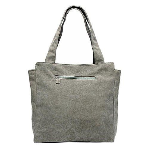 Chang Spent borsa tracolla sacchetto di stampa di tela tendenza tote delle donne , green Green
