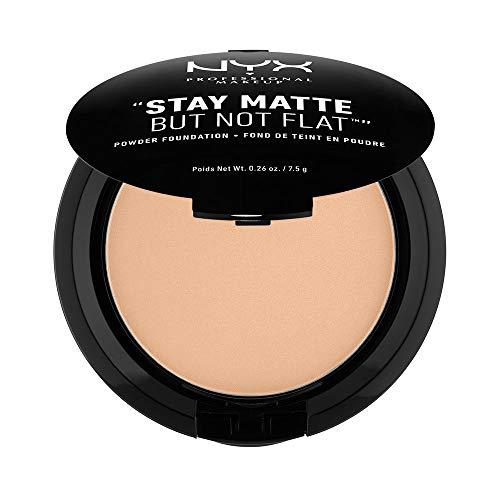 NYX Stay Matte But Not Flat Powder Foundation - Medium Beige