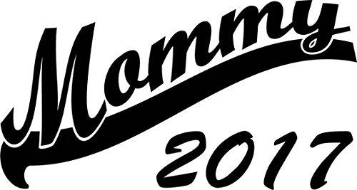 Mister Merchandise Herren Men T-Shirt Mommy 2017 Tee Shirt bedruckt Weiß