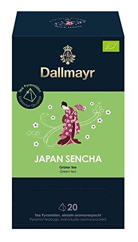 Dallmayr Teepyramide Japan Sencha Bio, 1er Pack (1 x 50 g)