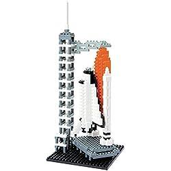 Unbekannt Kawada 14000 Nanoblock - Puzzle en 3D de centro espacial (consta de más de 580 piezas)