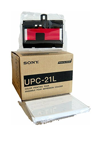 Sony Corporation UPC21L Kit per Stampante Medicale a Colori in A6, Formato Grande