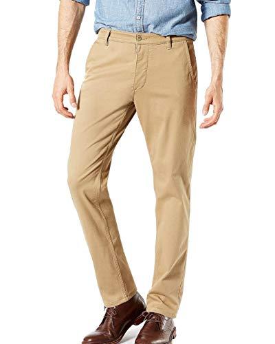 Dockers Pantalon Flex Tapered Khaki Hombre 4034 Beige