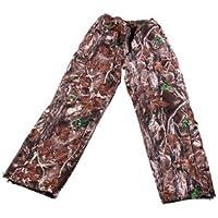 Riverside Outdoor caza pantalones de camuflaje septentrionales impermeable transpirable forma acosa, color , tamaño XXL