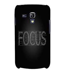 CHAPLOOS Designer Back Cover For Samsung Galaxy S3 Mini