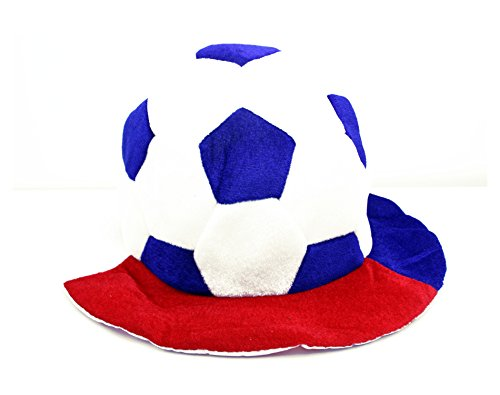 ZaPro Fan Hut/Deutschland Russland Frankreich Kroatien/Sonnen Schutz Accessoires/Mann Frau Kinder Fan/WM EM Sport Fußball Fussball 2018 (Russland - Kroatien)