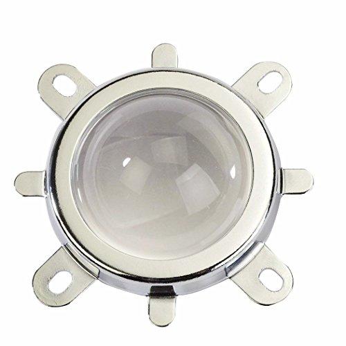 Tesfish 44mm Lente de + 50mm Reflector taza + Soporte fijo para 20W 30W 50W 100W viruta del LED Luz