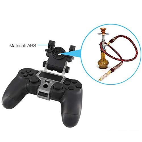 Balight Hookah Hose Holder Accesorios de juego de soporte ajustable Shisha de 180 grados para controlador...