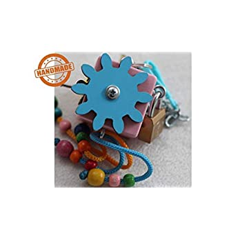 "Montessori Activity Würfel Holzspielzeug ""Prinzessin"""