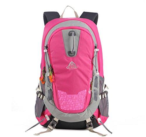 ROBAG Outdoor-Rucksack Tourist paar Radfahren Sporttasche Rucksack 30L pink